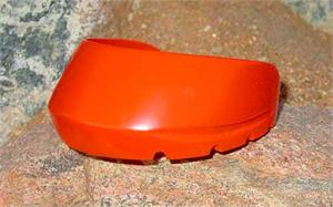 Pro-Comp Glue-On Hoof Boot: Sport Orange